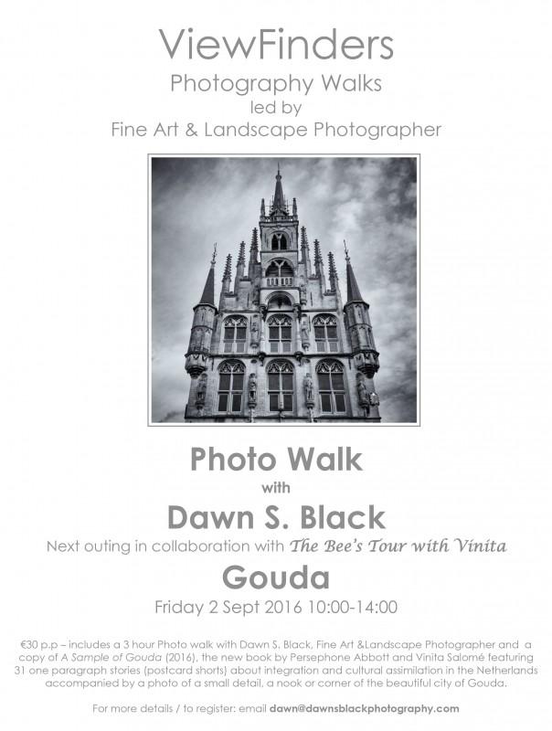 Viewfinders Gouda Poster Dawn Black