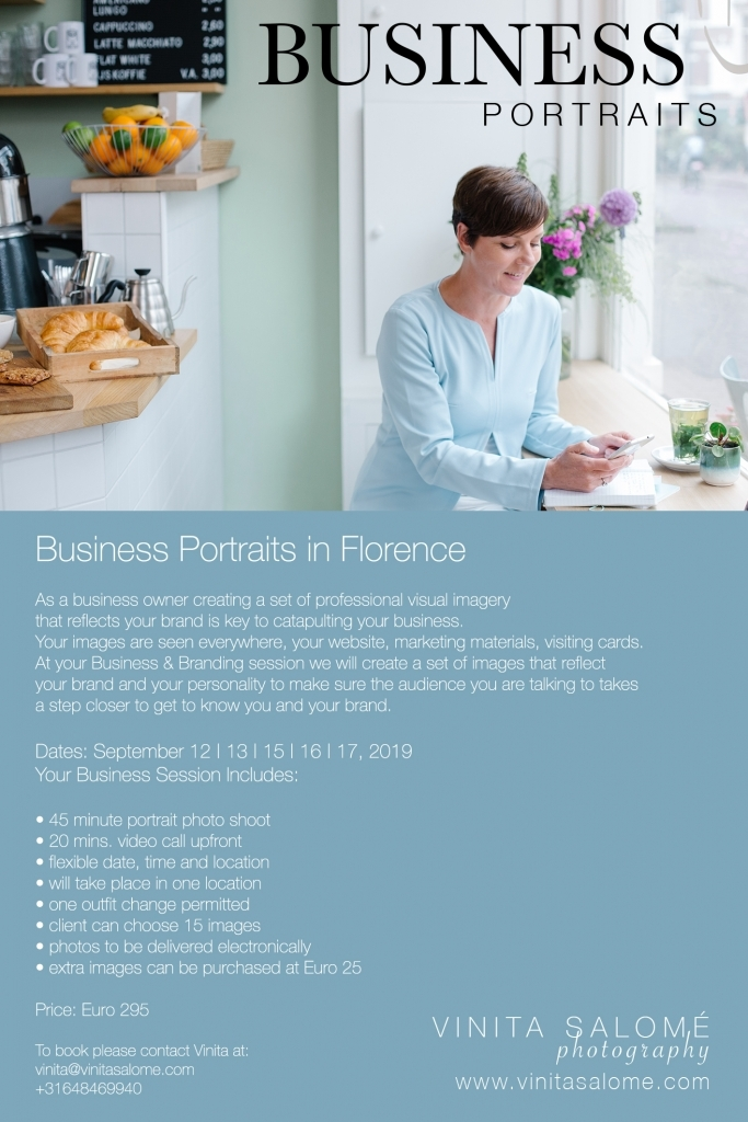 Business Portraits in Florence